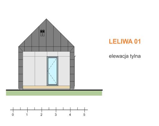 Leliwa 01 - Elewacja tylna
