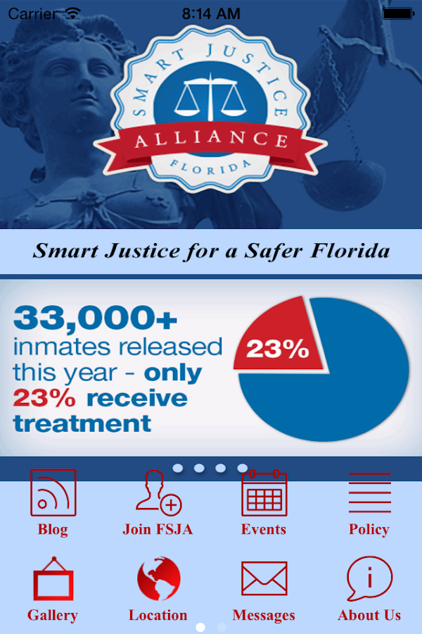 Florida Smart Justice Alliance- screenshot