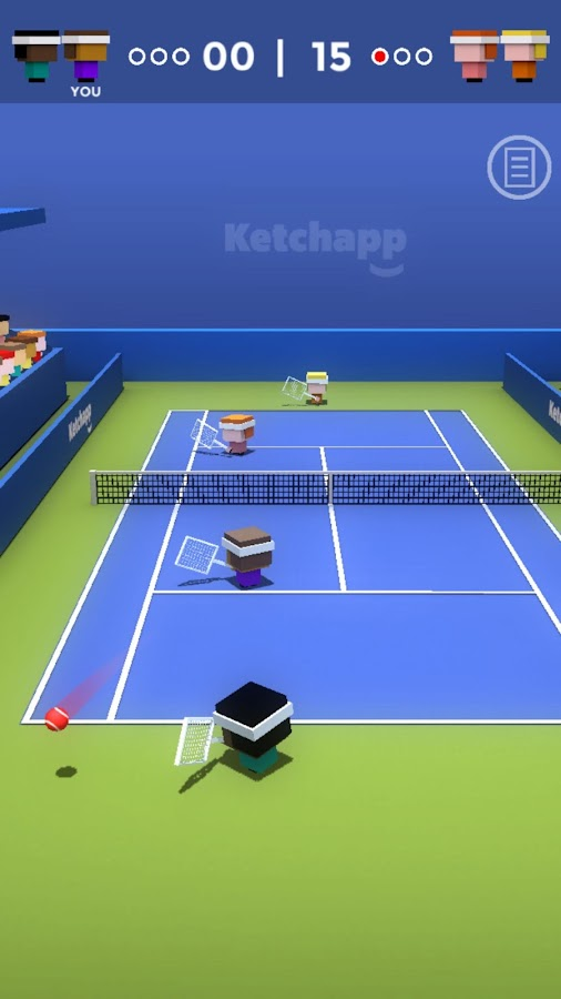 Ketchapp Tennis- screenshot