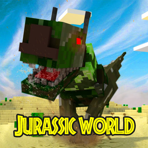 Map Jurassic Craft addon for MInecraft PE