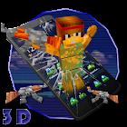 Pixel Gun 3Dテーマ icon