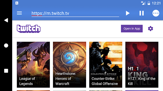 Live Stream Player- screenshot thumbnail