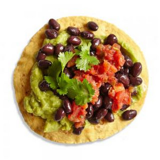 Vegetarian Black Bean Tostada Recipe