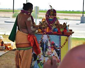Photo: Deepa aradhanai for Maha Ganapathi's kalasam