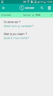 Afrikaans Italian Translator - náhled