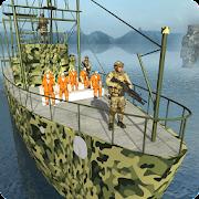 سجين الجيش النقل السفينة