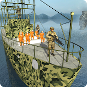 Army Prisoner Transport Ship - Transporter Games