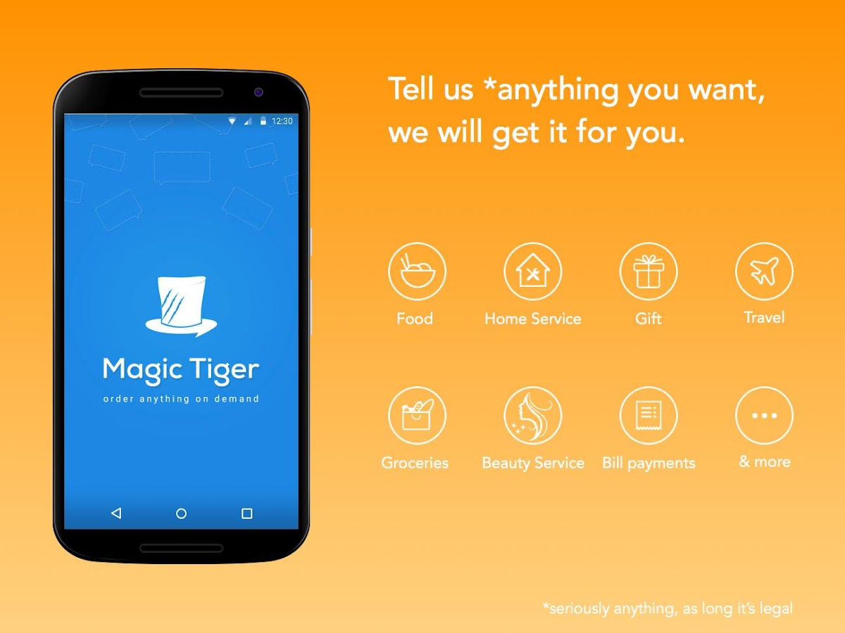 MagicTiger - Order Anything- screenshot