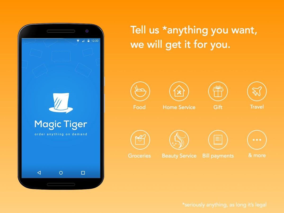 MagicTiger - Order Anything- screenshot