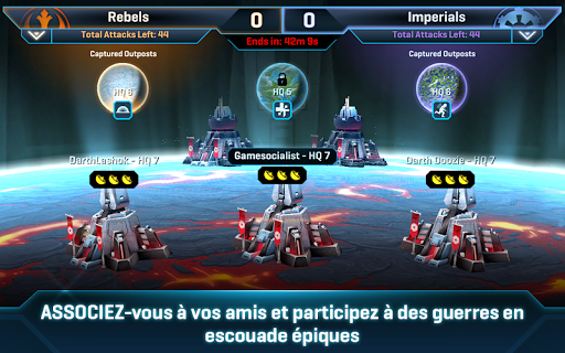 Star Wars: Commander fond d'écran 2