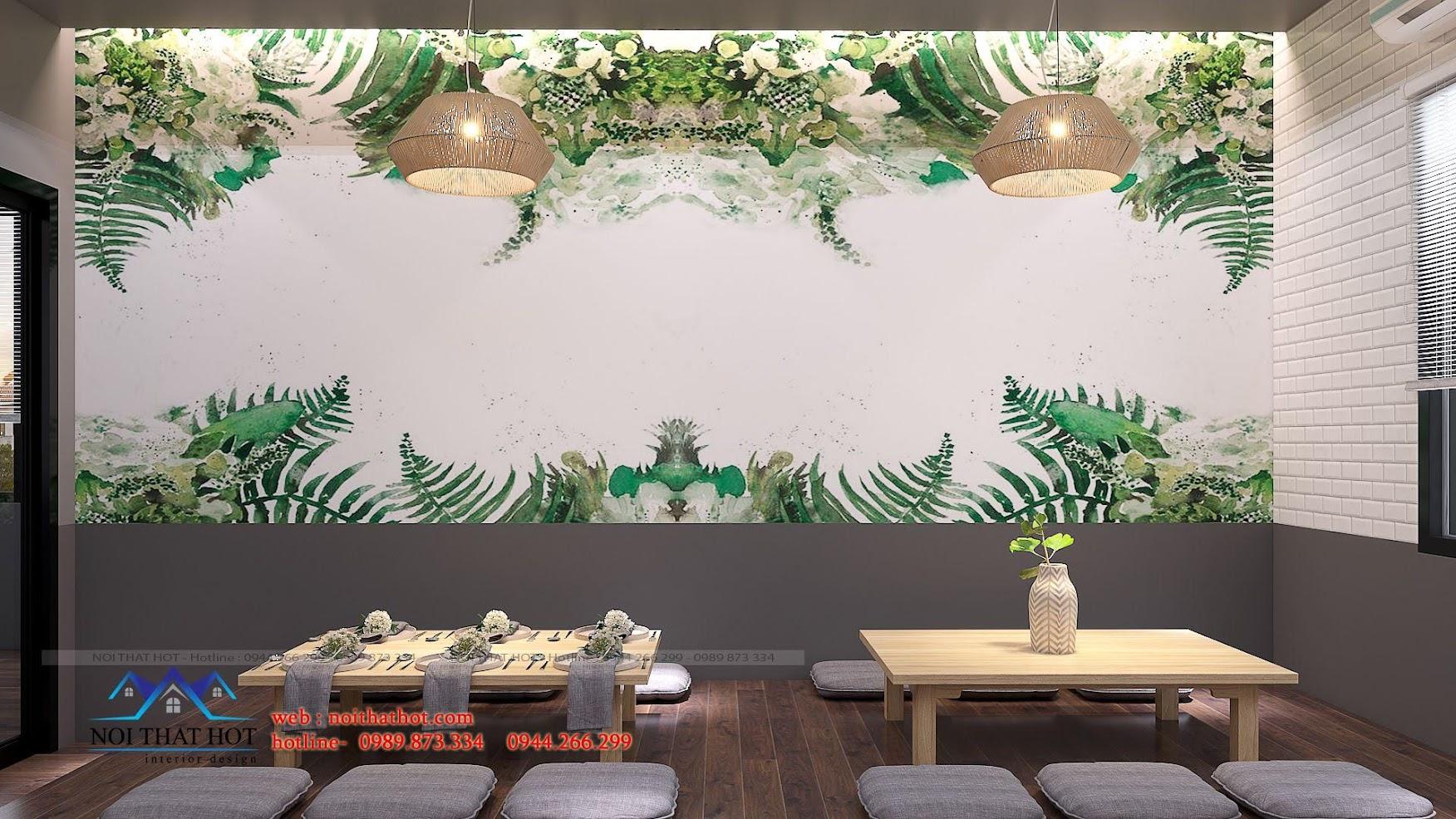 thiết kế nhà hàng trường giang 19
