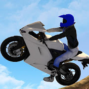 Drive Impossible Tricky Super Bike at Offroad Hill