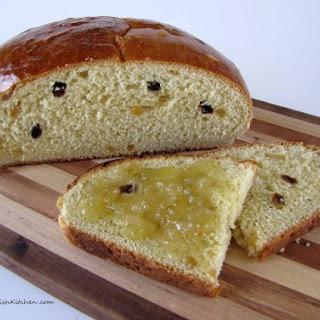 Julekake – Norwegian Christmas Bread.