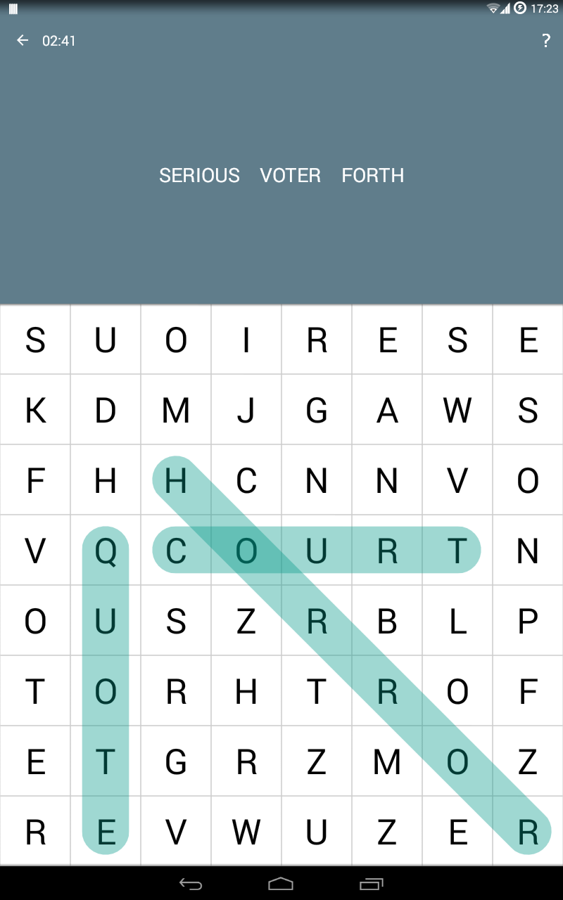 Word Search screenshot #6