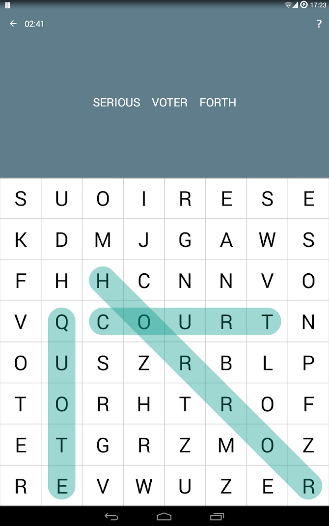 Word Search Android 6
