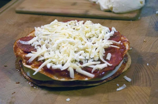 Add a protein, and some cheese (I like to vary the cheeses).