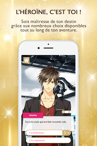 Honey Magazine - Otome game gratuit  captures d'u00e9cran 2
