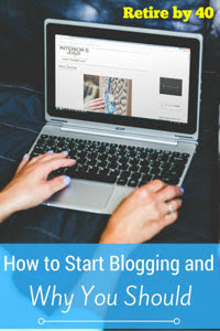 How to Start a Blog and Why You Should thumbnail