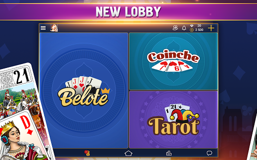 VIP Belote - French Belote Online Multiplayer android2mod screenshots 10
