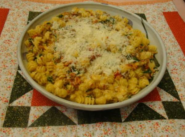 Nunu's Sun-dried Tomato Alfredo Pasta Recipe