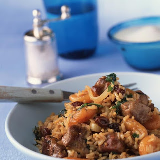 Lamb and Apricot Pilaf