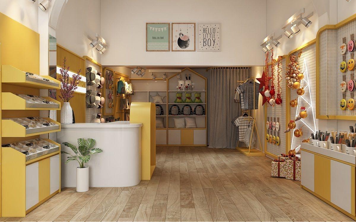 thiết kế cửa hàng lưu niệm tại lò đúc 4