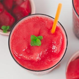 Frozen Watermelon Strawberry Lemonade Recipe
