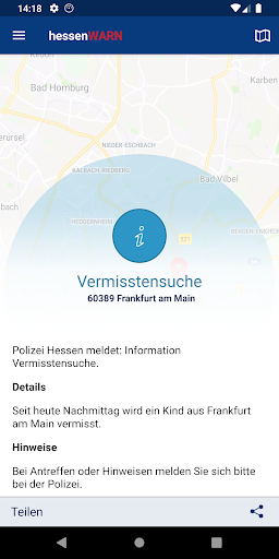 Hessen WARN screenshot 4
