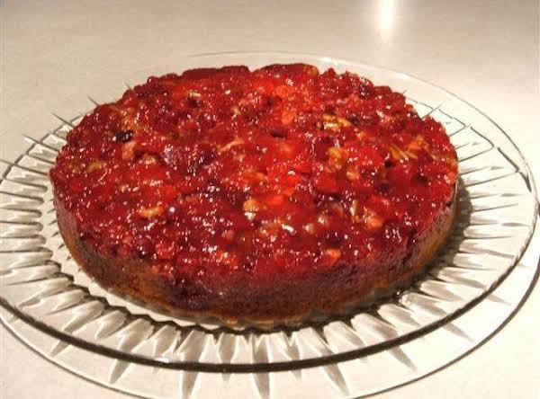 Cranberry De-lite Cake Recipe