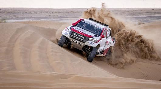 Fernando Alonso y Marc Coma, a por la victoria en el Rallye de Marruecos