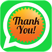 Thankyou sticker for whatsapp