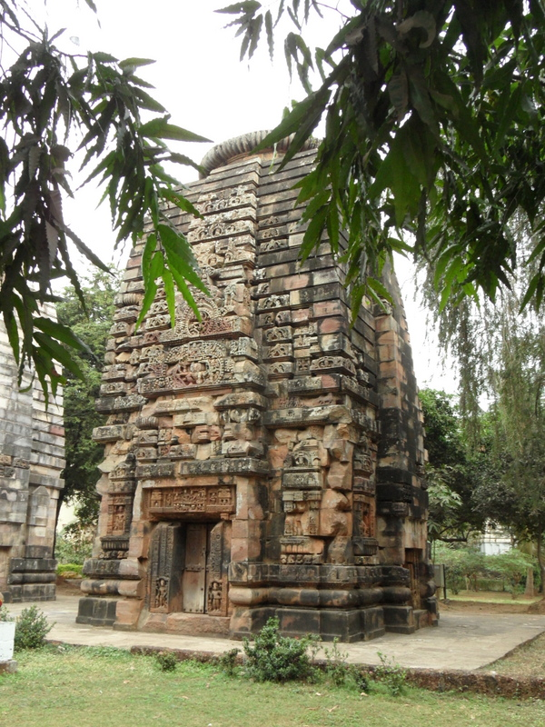 Photo: The oldest temples in Bhubanesvar, from around the 6th century.