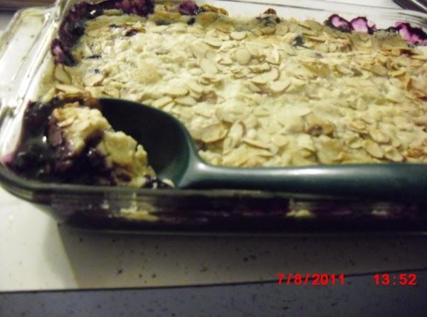 Blueberry/pineapple Dump Desert Recipe