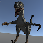 Real Raptor Simulation Room 3D Icon