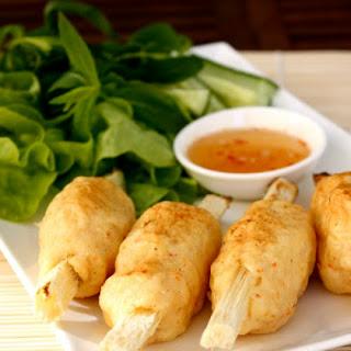 Chạo Tôm (Vietnamese Grilled Prawn on Sugar Cane)