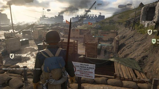 CALL OF DUTY WWII BETA - náhled