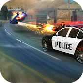 Police Shooting Car Chase V2