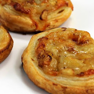 Apple Cheddar Palmiers