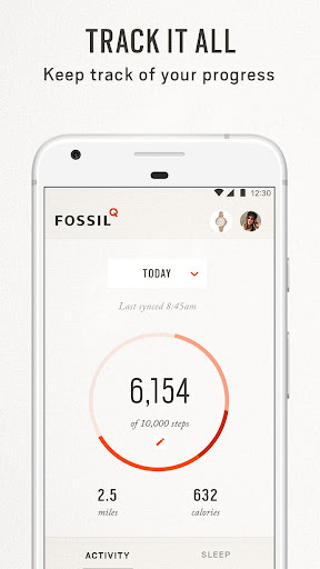 Fossil Q  screenshots 5