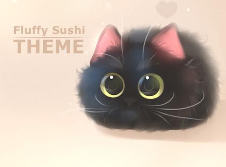 fluffy sushi