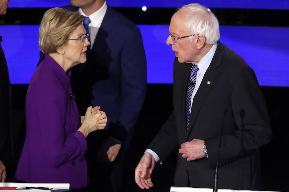 Can a woman win US presidency? Sanders, Warren take on controversy