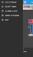 Screenshot of MUSTANG 107.1 FM