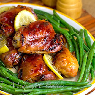 Tara's Honey Lemon Chicken.