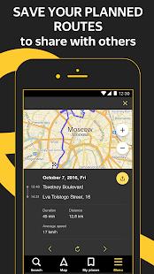 Yandex.Navigator Screenshot