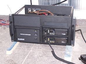 Photo: Equipamento ok, dois GM300, placa de controle elektra 2000, fonte JBPS 15 A.