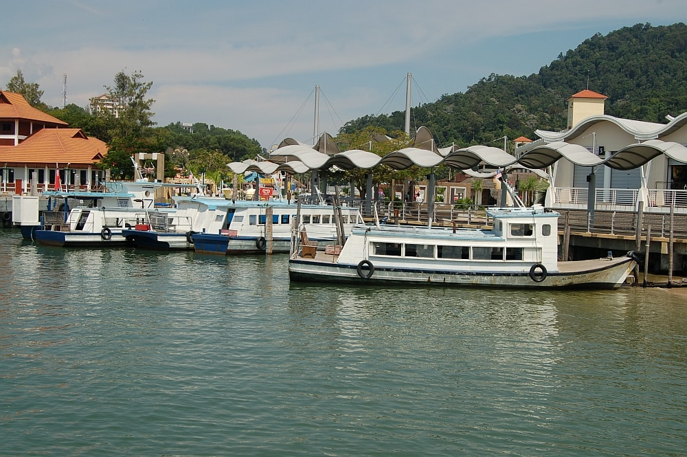 You will need to take a ferry ride from Lumut jetty to Pangkor Island.