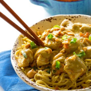 Thai Peanut Chicken With Coconut Milk Recipes