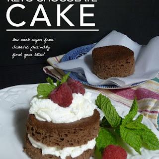 Keto Chocolate Cake.