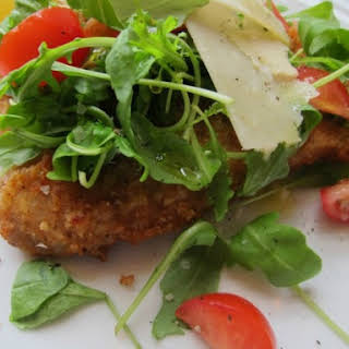 Veal Milanese with Arugula Salad.