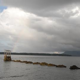 Rainbow by JudiEndjun Ultrasound - Landscapes Beaches